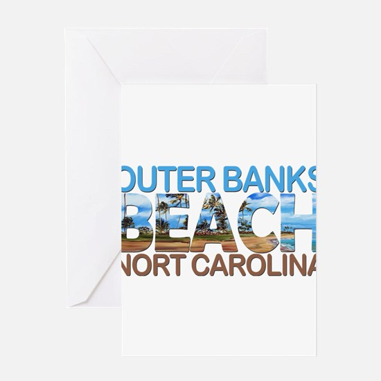 Summer outer banks- North Carolina Greeting Cards