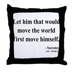 Socrates 9 Throw Pillow