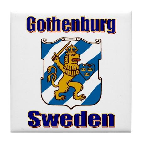 Gothenburg Sweden Tile Coaster