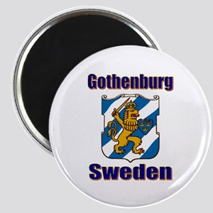 Gothenburg Sweden Magnet