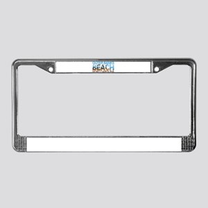 Summer outer banks- North Caro License Plate Frame