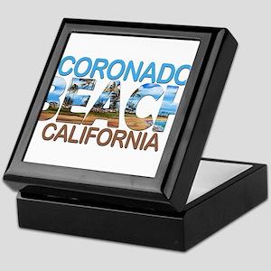 Summer coronado- california Keepsake Box