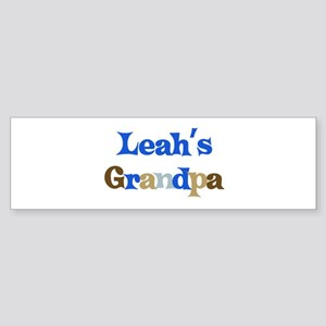 Leah's Grandpa Bumper Sticker