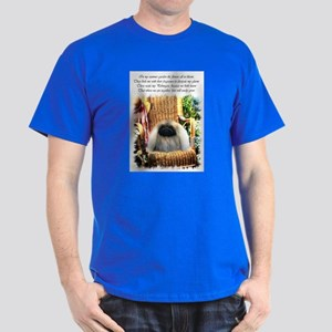 Pekingese Art Dark T-Shirt