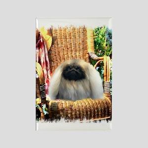 Pekingese Art Rectangle Magnet (10 pack)