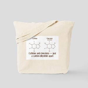 Caffeine & Chocolate Tote Bag