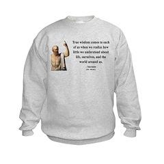 Socrates 12 Sweatshirt