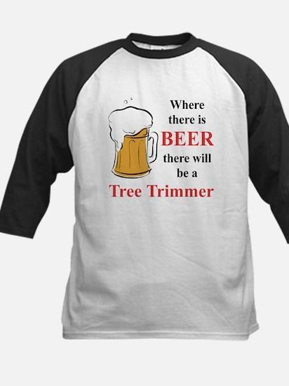 Tree Trimmer Kids Baseball Jersey