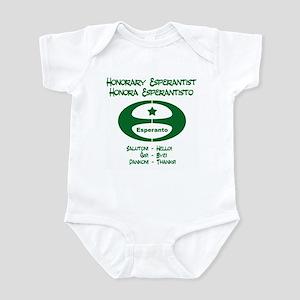Honorary Esperantist Infant Bodysuit