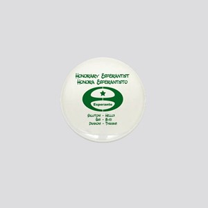 Honorary Esperantist Mini Button