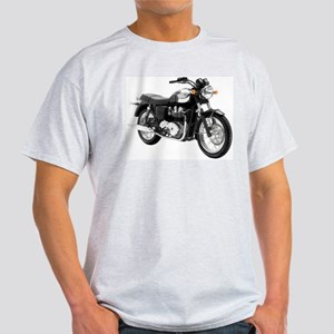 Triumph Bonneville Green/White #1 Light T-Shirt