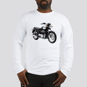 Triumph Bonneville Green/White #1 Long Sleeve T-Sh