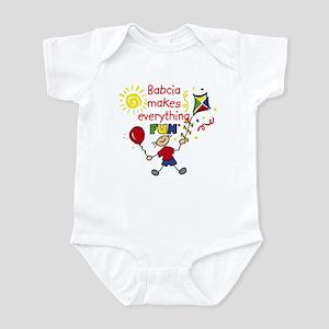 Babcia Fun Boy Infant Bodysuit