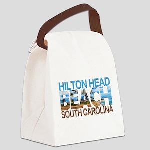Summer hilton head- south carolin Canvas Lunch Bag