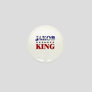 JAKOB for king Mini Button