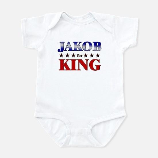 JAKOB for king Infant Bodysuit