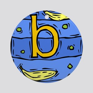 B is for BANANA Ornament (Round)