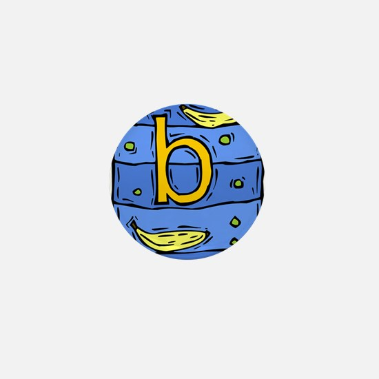 B is for BANANA Mini Button