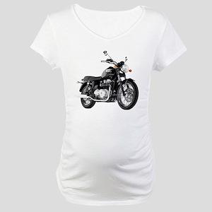 Triumph Bonneville Black #1 Maternity T-Shirt