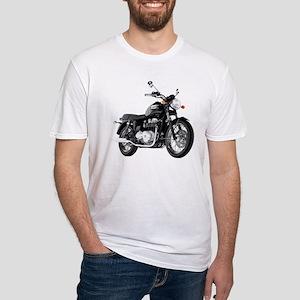 Triumph Bonneville Black #1 Fitted T-Shirt
