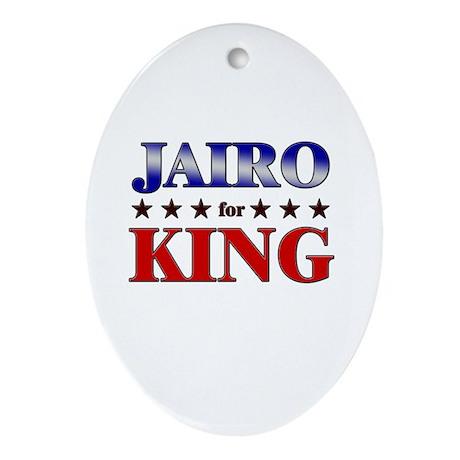 JAIRO for king Oval Ornament