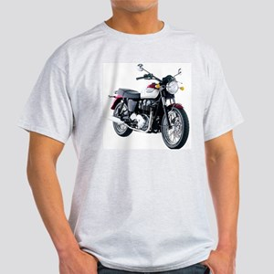 Triumph Bonneville White/Red T-Shirt