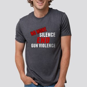 Stop Gun Violence Mens Tri-blend T-Shirt