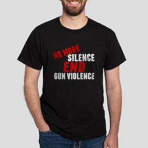 Stop Gun Violence Dark T-Shirt
