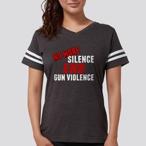 Stop Gun Violence Womens Football Shirt