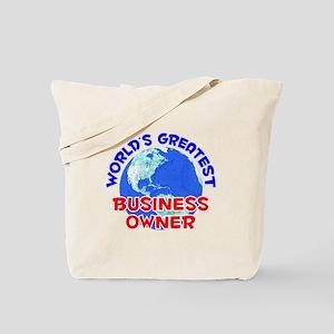 World's Greatest Busin.. (E) Tote Bag