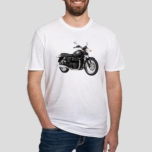 Triumph Bonneville Black #2 Fitted T-Shirt