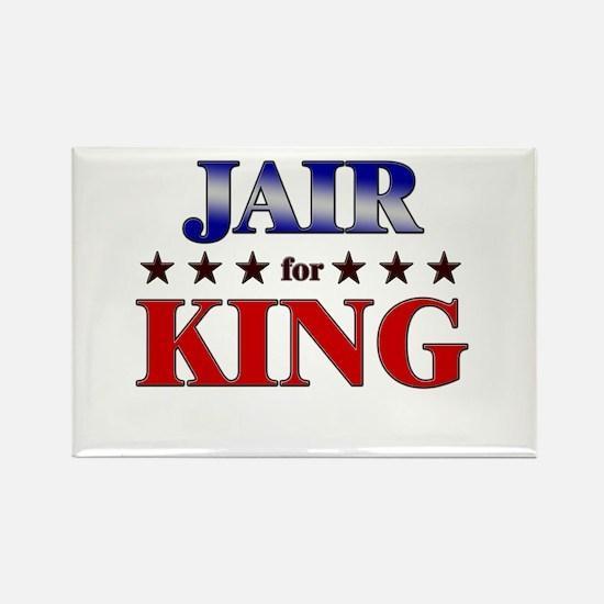 JAIR for king Rectangle Magnet