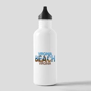 Summer virginia beach- Stainless Water Bottle 1.0L