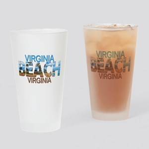Summer virginia beach- virginia Drinking Glass