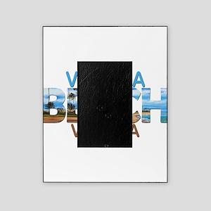 Summer virginia beach- virginia Picture Frame