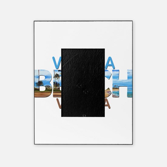 Summer virginia beach- virginia Picture Frame