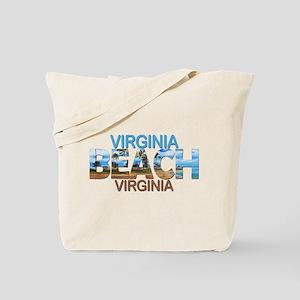 Summer virginia beach- virginia Tote Bag