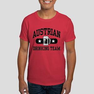 Austrian Drinking Team Dark T-Shirt