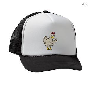 Chicken Farmer Kids Trucker Hats - CafePress cd08923f8904