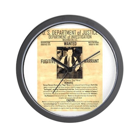Bugs Moran Wall Clock