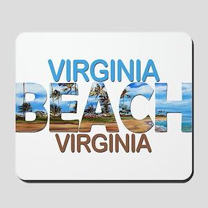 Summer virginia beach- virginia Mousepad