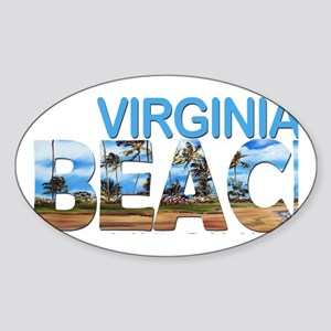 Summer virginia beach- virginia Sticker