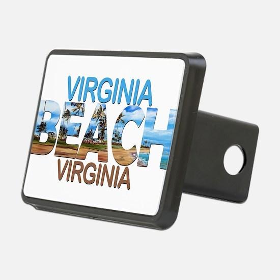 Summer virginia beach- vir Hitch Cover
