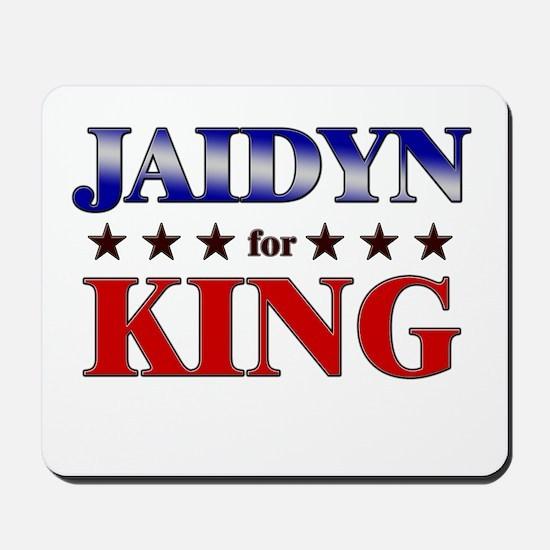 JAIDYN for king Mousepad