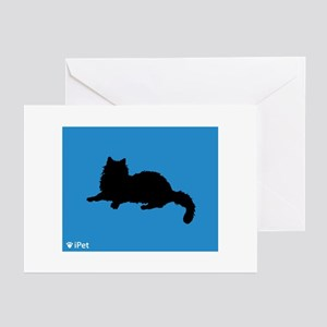 Ragdoll iPet Greeting Cards (Pk of 10)
