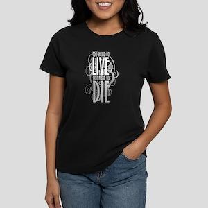 Too Weird to Women's Dark T-Shirt