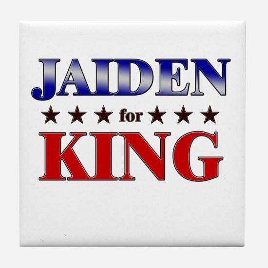 JAIDEN for king Tile Coaster