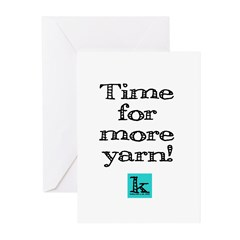 Time for More Yarn Greeting Cards (Pk of 10)