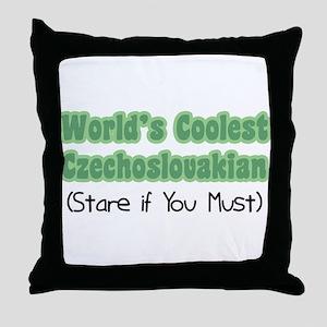 World's Coolest Czechoslovakian Throw Pillow