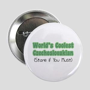 """World's Coolest Czechoslovakian 2.25"""" Button"""